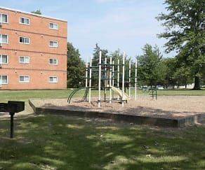 Exterior-Playground, Dorchester Village