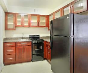 Kitchen, Capital Plaza Apartments