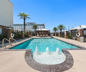 Pool, Furnished Studio - Houston - IAH Airport