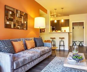 Living Room, Bailey Farm Apartments