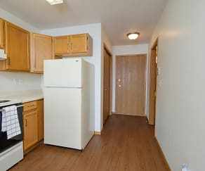 Kitchen, Ashbury Apartments