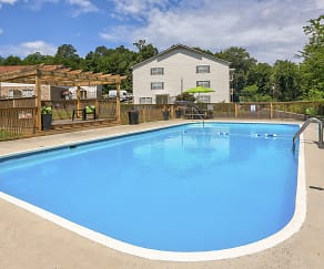 Pool, Country Oaks Apartments
