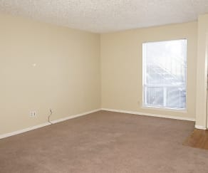 Living Room, 1303 Indian Trail Unit C