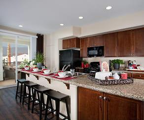 Kitchen, Santa Barbara Apartments