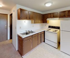 Kitchen, Frederick Apartments