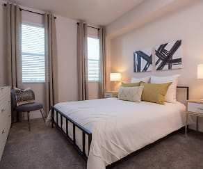 Bedroom, The Lumin at Boca Raton