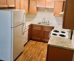 Kitchen, Madison Apartments