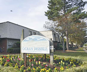 Community Signage, Ocean Pebbles