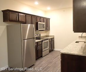 Kitchen, 5 Mile Square Apartments