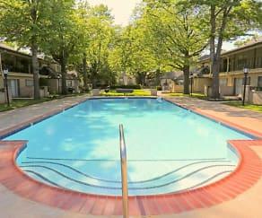 Pool, French Villa Apartments