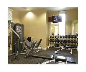 Fitness Weight Room, Santana Height at Santana Row