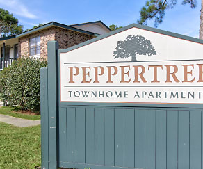 Community Signage, Peppertree Townhomes