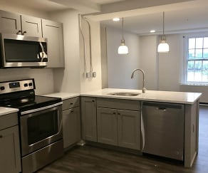 Kitchen, Troy Apartment Living-WSM