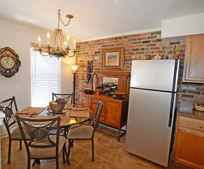 Dining Room, The Jamestown Apartments