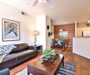 Living Room, Covington Park Apartments