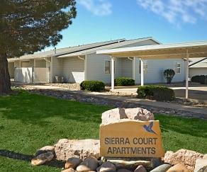 Community Signage, Sierra Court Apartments