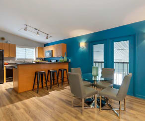 Dining Room, The Parke at Trinity Apartment Homes