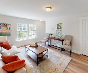 Living Room, Chandler Commons Townhomes