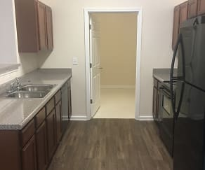 Kitchen, Cason Ridge Apartments