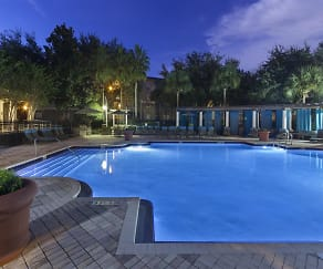 Swimming Pool with Sundeck Seating, The Legends at Champions Gate Apartments