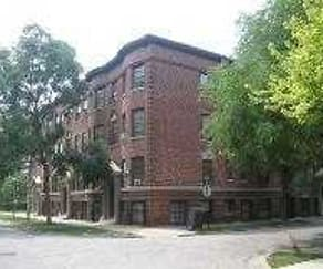 Building, Oak Park Residence Corporation Apartments