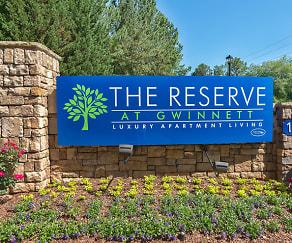 Community Signage, The Reserve at Gwinnett