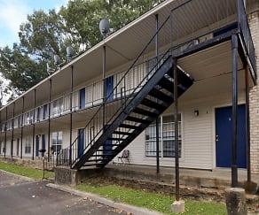 Building, Barron Court Apartments
