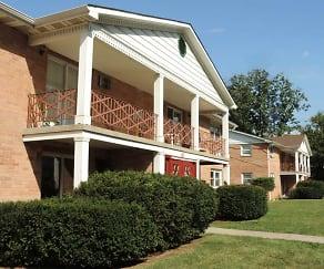 Building, Longview Village