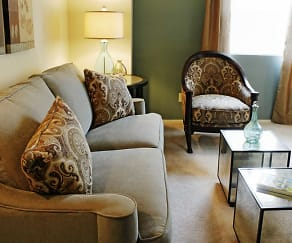 Living Room, Southgate Apartments and Townhomes