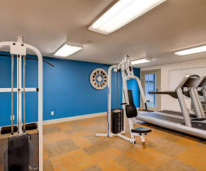 Fitness Weight Room, Park Place Apartments