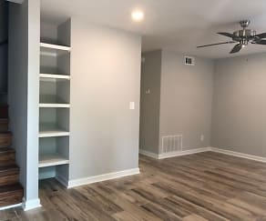Living Room, Orchard Springs Townhomes