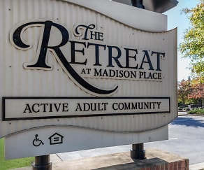 Community Signage, The Retreat at Madison Place