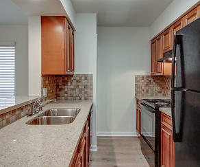Kitchen, Kimberly House Apartments