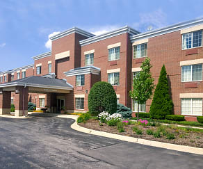 Building, Furnished Studio - Chicago - Westmont - Oak Brook