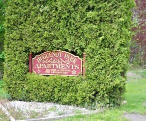 Community Signage, Huguenot Park