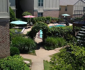 Landscaping, Plaza East Apartments