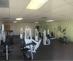 Fitness Weight Room, Apple Valley Townhomes