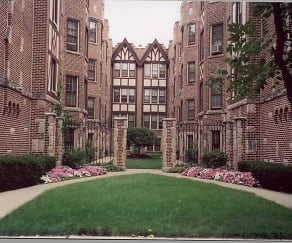 Courtyard, The Schirm Firm Apartments