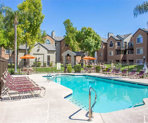 Swimming Pool with Sundeck Seating, Terra Vida Apartments