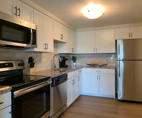 Kitchen, Concord Apartments