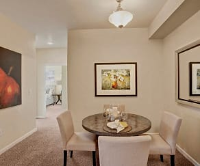 Dining Room, Solara Apartments