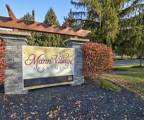Community Signage, Mann Village