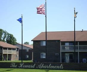 Community Signage, Howard Apartments