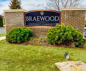 Community Signage, Braewood