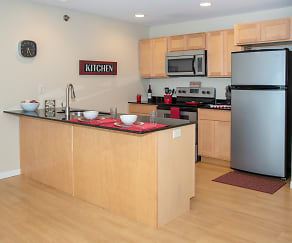 Kitchen, Southpoint Apartments