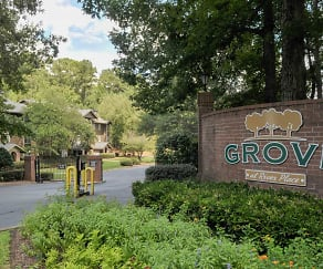 Community Signage, Grove at River Place