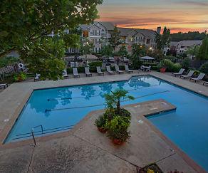 Pool, Avia At North Springs Apartment Homes