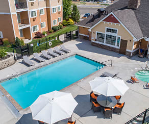 Pool, Quail Springs Apartments
