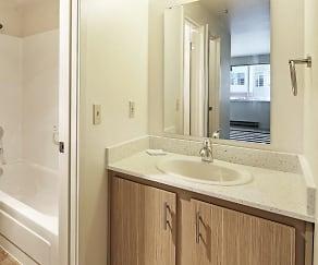 Bathroom, Townside Flats
