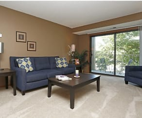 Living Room, Westwind Apartments
